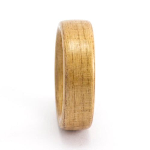 Size 6 Cherry Wood Ring Bentwood Wedding Band
