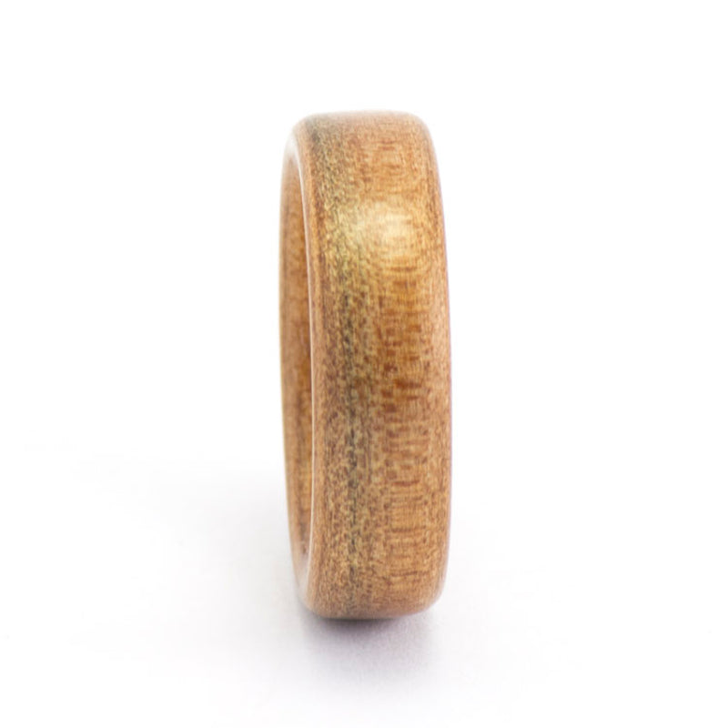 Size 7.5 Tineo Bentwood Wedding Band