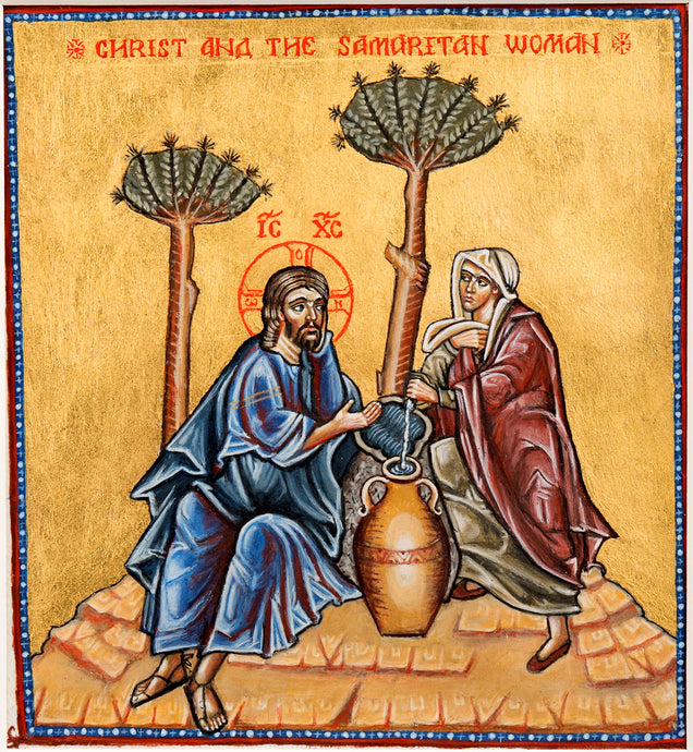 Lord Jesus Christ and the Samaritan Woman