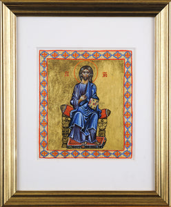 Lord Jesus Christ Enthroned