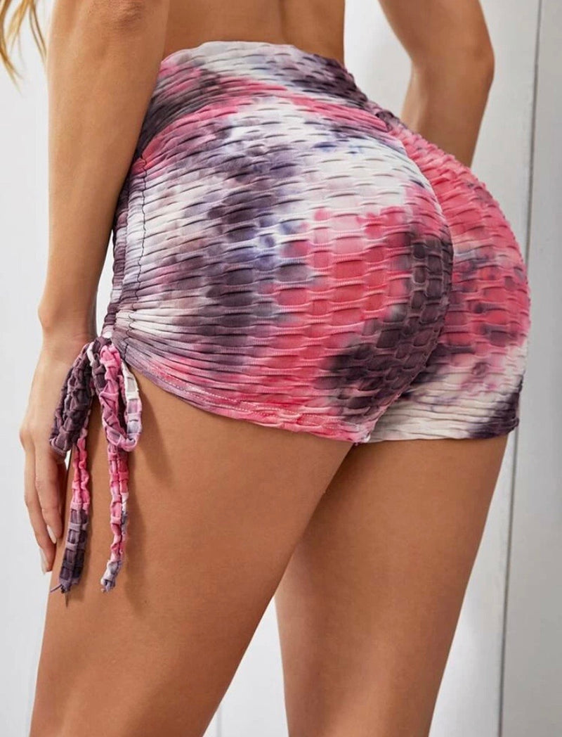 """Trophy Booty"" Shorts w/Drawstring"