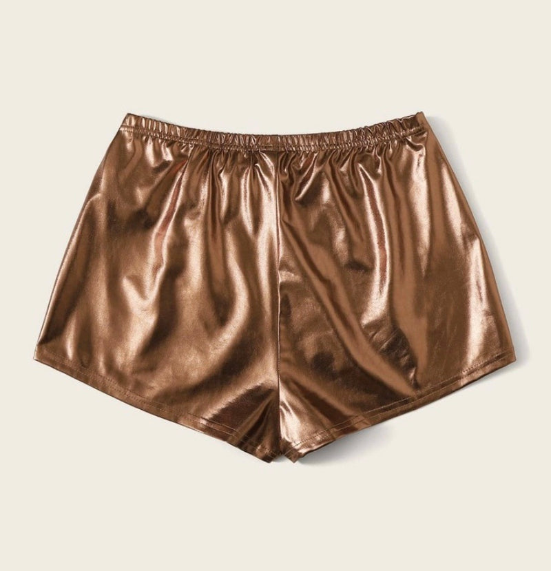 """Superstar"" Twerk Shorts (Metallic)"