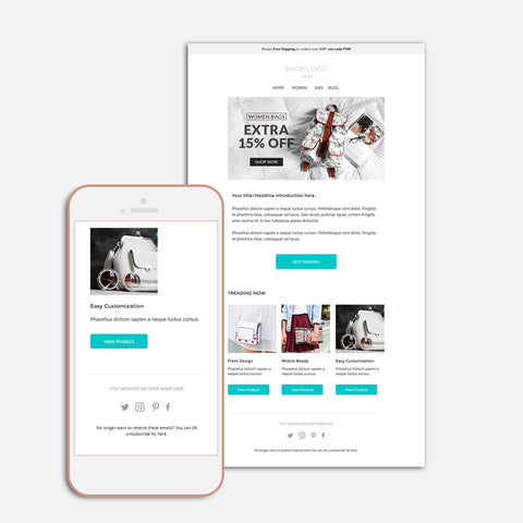 Responsive Enhancement email template