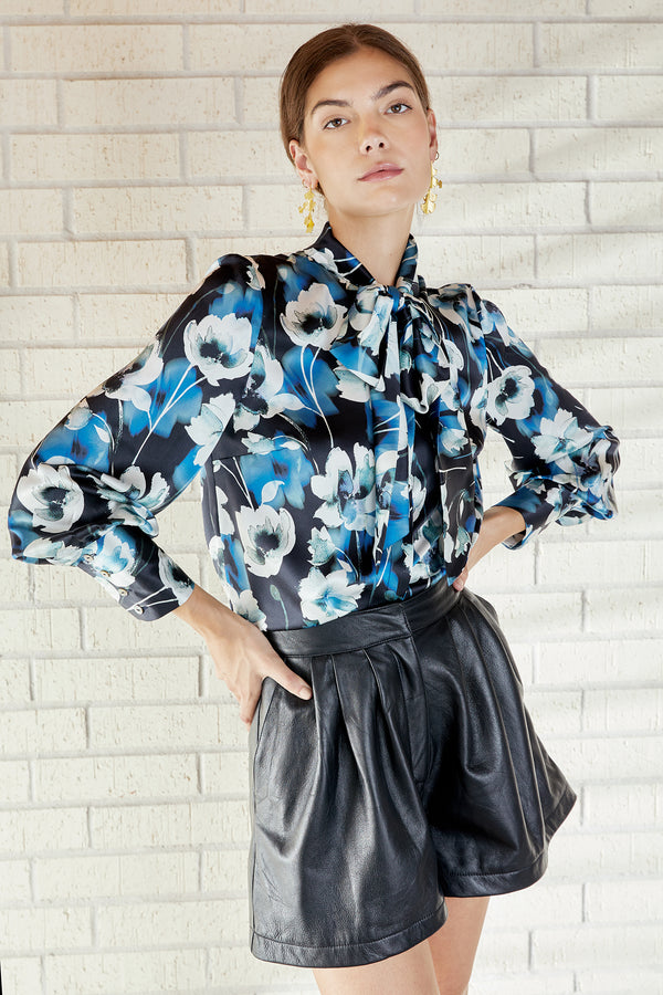 Francesca Blouse- Evening Bloom