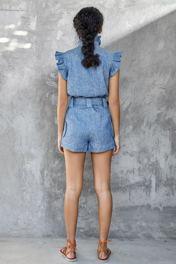 Marfa Top - Blue Jean
