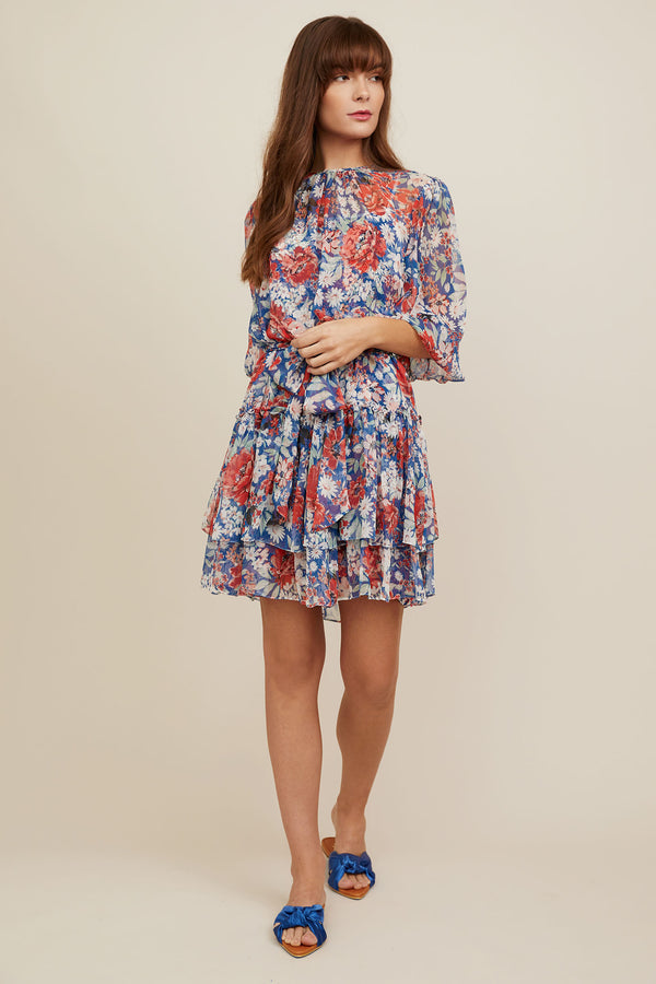 Amelie Dress - Jardin Print