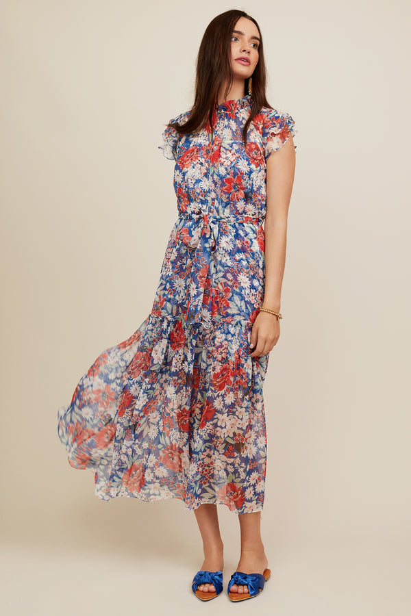 Juliette Dress - Jardin Print