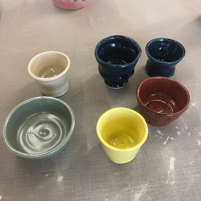 First pots out of the Kiln