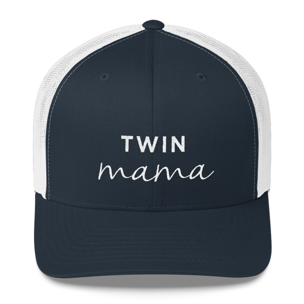 Twin Mama Trucker Hat