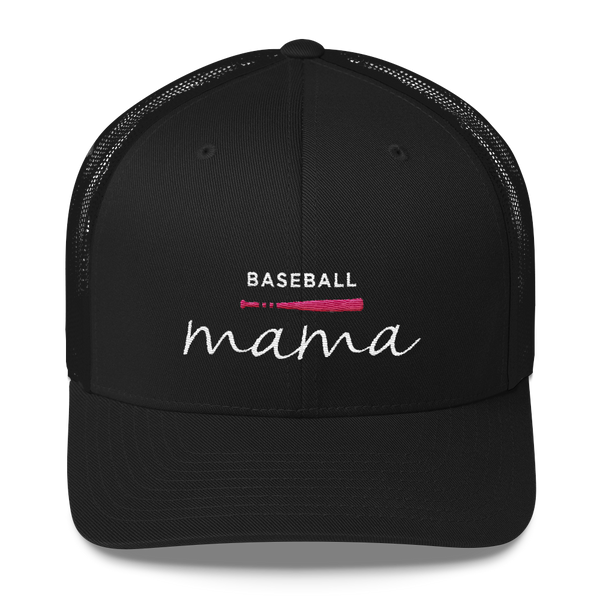 Baseball Mama Trucker Hat