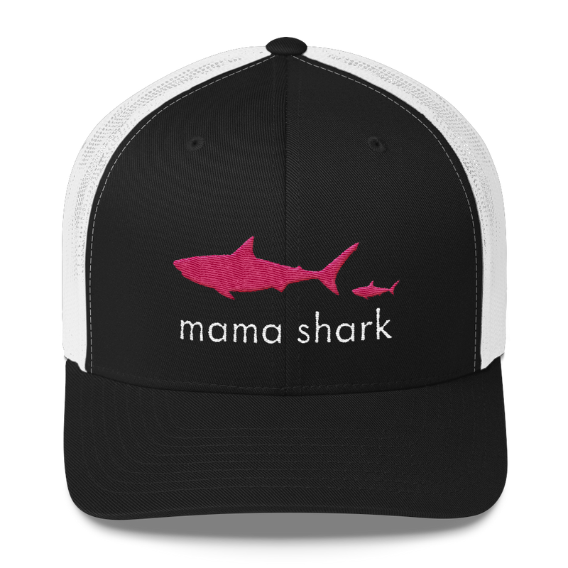 Mama Shark Trucker Hat