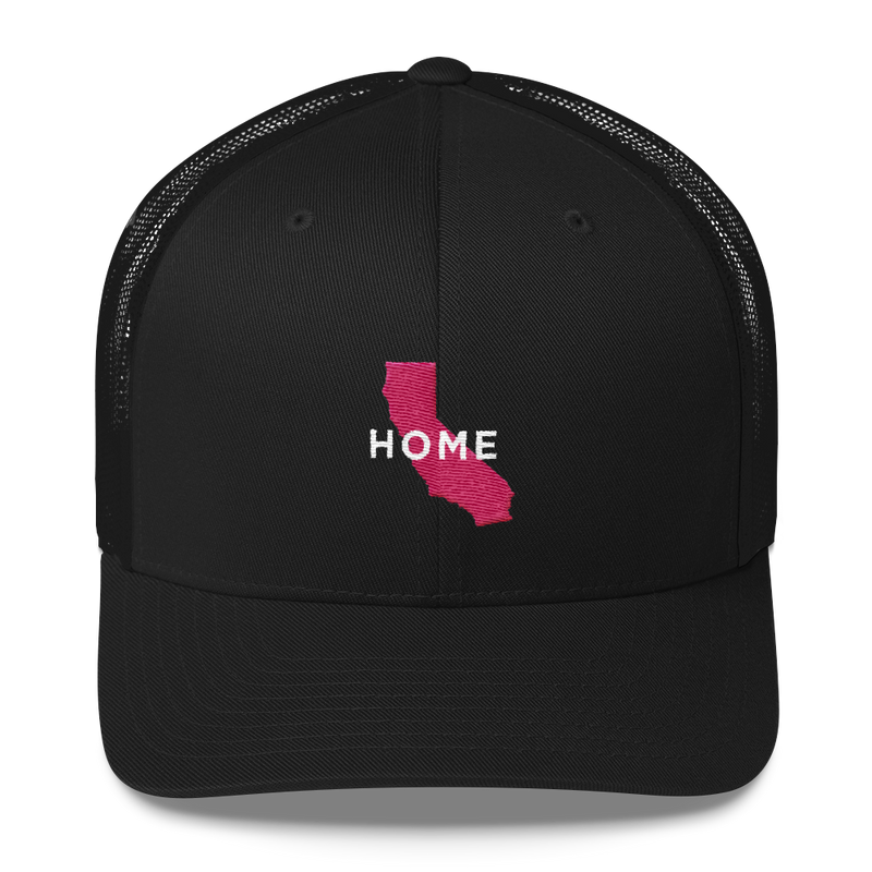 California Home Trucker Hat