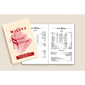 Willys Service Standards manual