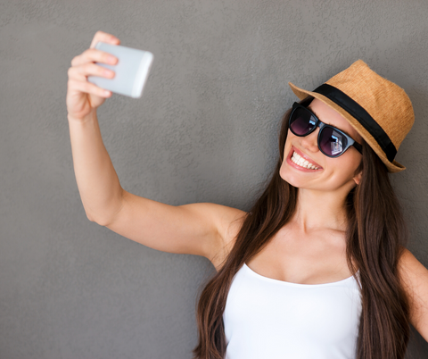 tips to better selfies: know your pose