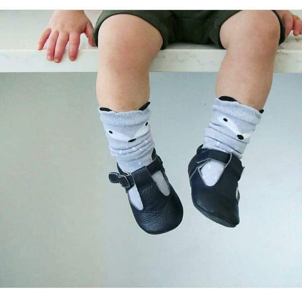 The Shaughnessy Shoe - Black-Shoes-Aston Baby-sawyer + crew-Baby Clothing-Kids Clothes-Toddler Clothes