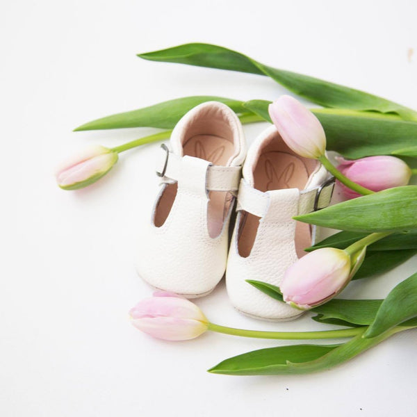 The Shaughnessy Shoe - White-Shoes-Aston Baby-sawyer + crew-Baby Clothing-Kids Clothes-Toddler Clothes