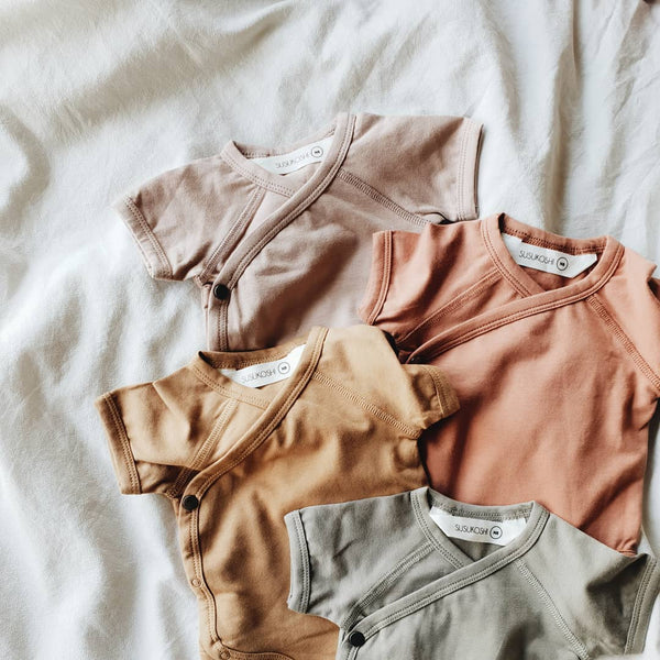Kimono Bodysuit - Naturel-Onesies-Susukoshi-online baby shop- online boutique for kids-sawyer + crew-Baby Clothing-Kids Clothes-Toddler Clothes- cute newborn clothing-clothing for babies- mommy and me-twinning tees-graphic tees for moms and kids-online boutique for babies-boho clothes for kids-online store for kids-organic clothing for babies