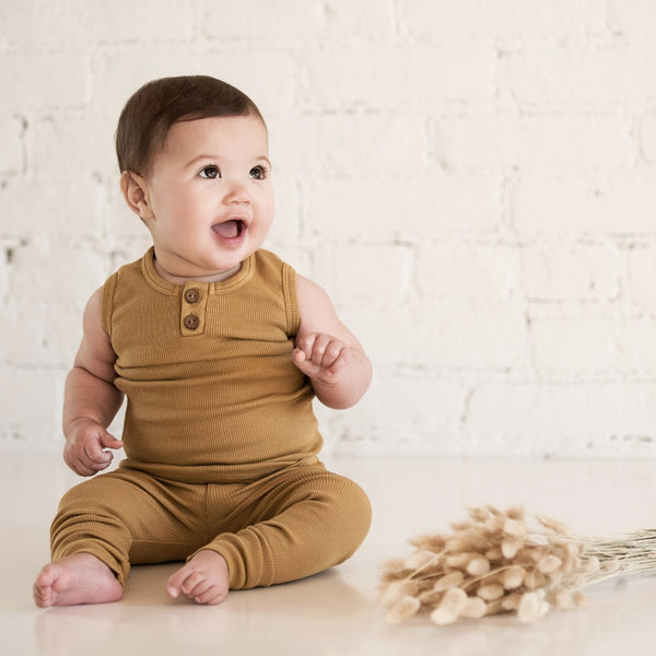 Organic Vintage Leggings - Ochre-Bottoms-KidWild Organics-online baby shop- online boutique for kids-sawyer + crew-Baby Clothing-Kids Clothes-Toddler Clothes- cute newborn clothing-clothing for babies- mommy and me-twinning tees-graphic tees for moms and kids-online boutique for babies-boho clothes for kids-online store for kids-organic clothing for babies