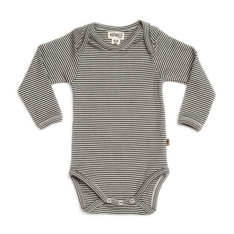 Organic Long Sleeve Bodysuit-Onesies-KidWild Organics-3-6 months-online baby shop- online boutique for kids-sawyer + crew-Baby Clothing-Kids Clothes-Toddler Clothes- cute newborn clothing-clothing for babies- mommy and me-twinning tees-graphic tees for moms and kids-online boutique for babies-boho clothes for kids-online store for kids-organic clothing for babies