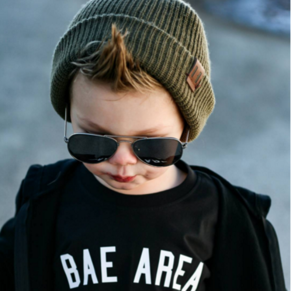 Unisex Knit Beanie - Olive-Hats-Beau Hudson-online baby shop- online boutique for kids-sawyer + crew-Baby Clothing-Kids Clothes-Toddler Clothes- cute newborn clothing-clothing for babies- mommy and me-twinning tees-graphic tees for moms and kids-online boutique for babies-boho clothes for kids-online store for kids-organic clothing for babies