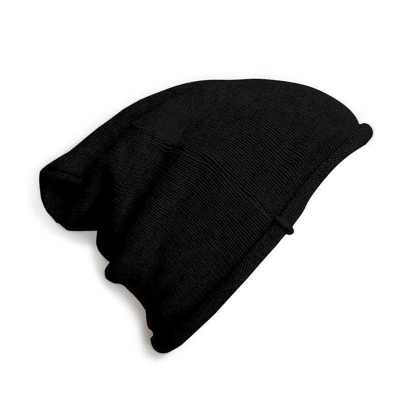 Beanie - Black-Hats-Collegien-0-3 years-sawyer + crew-Baby Clothing-Kids Clothes-Toddler Clothes