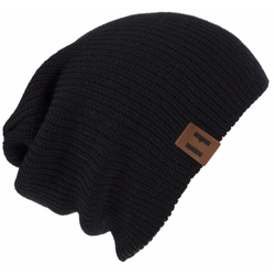 Unisex Knit Beanie - Black-Hats-Beau Hudson-small-sawyer + crew-Baby Clothing-Kids Clothes-Toddler Clothes