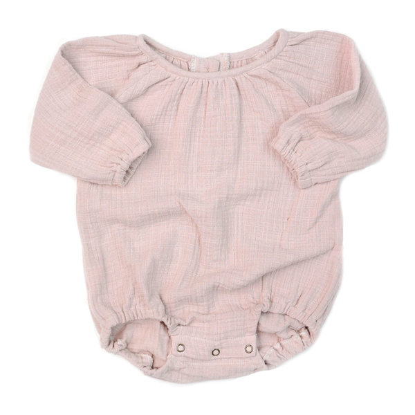 Bubble Playsuit - Blush-Rompers-Fin & Vince-0-3 months-sawyer + crew-Baby Clothing-Kids Clothes-Toddler Clothes