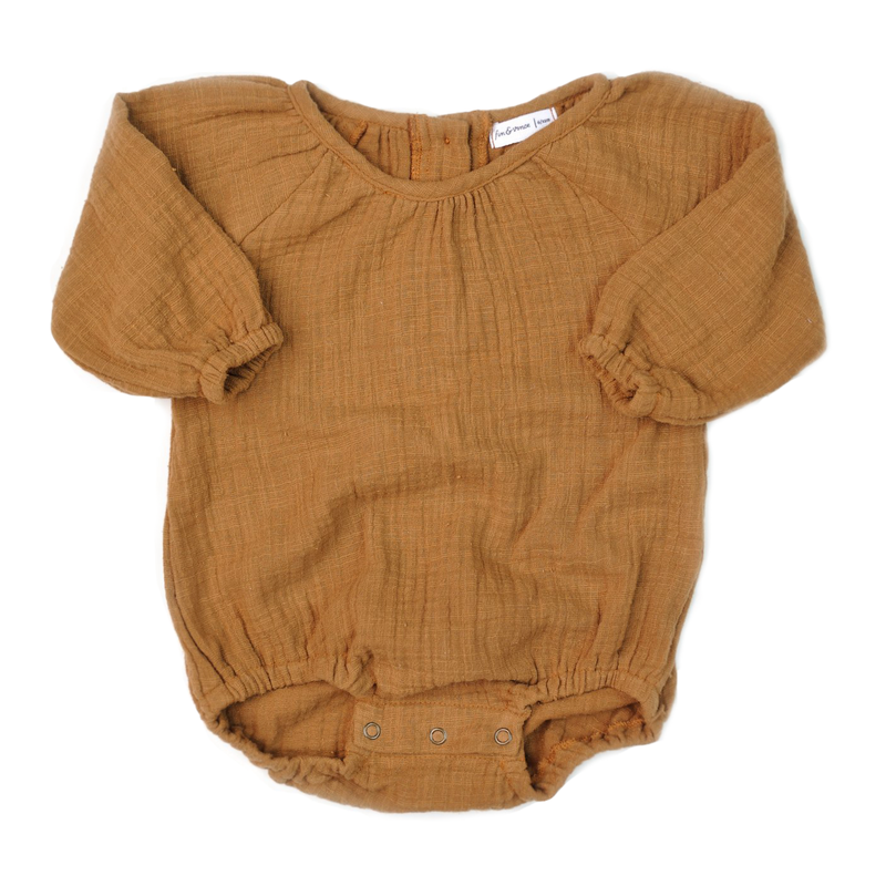 Bubble Playsuit - Honeycomb-Rompers-Fin & Vince-0-3 months-sawyer + crew-Baby Clothing-Kids Clothes-Toddler Clothes