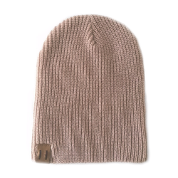 Unisex Knit Beanie - Dusty Pink-Hats-Beau Hudson-small-sawyer + crew-Baby Clothing-Kids Clothes-Toddler Clothes