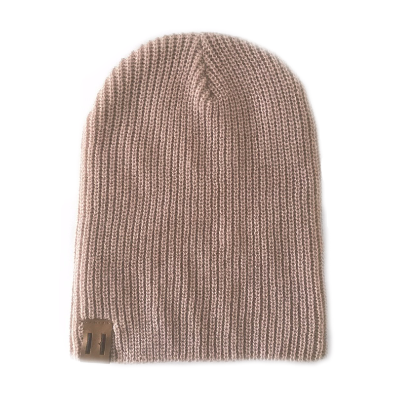 Unisex Knit Beanie - Dusty Pink-Hats-Beau Hudson-small-online baby shop- online boutique for kids-sawyer + crew-Baby Clothing-Kids Clothes-Toddler Clothes- cute newborn clothing-clothing for babies- mommy and me-twinning tees-graphic tees for moms and kids-online boutique for babies-boho clothes for kids-online store for kids-organic clothing for babies