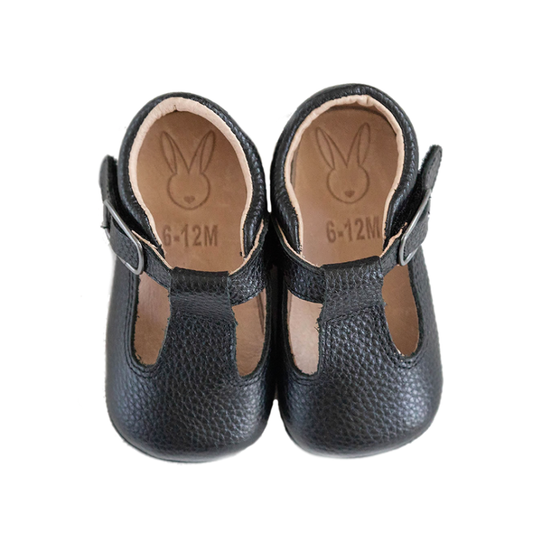 The Shaughnessy Shoe - Black-Shoes-Aston Baby-12-18 months-sawyer + crew-Baby Clothing-Kids Clothes-Toddler Clothes