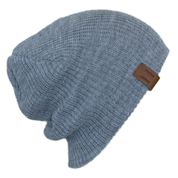 Unisex Knit Beanie - Grey Marle-Hats-Beau Hudson-small-sawyer + crew-Baby Clothing-Kids Clothes-Toddler Clothes