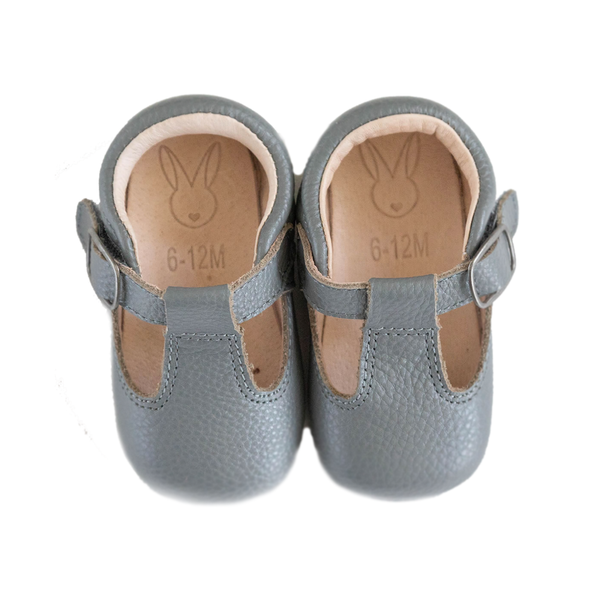 The Shaughnessy Shoe - Grey-Shoes-Aston Baby-12-18 months-sawyer + crew-Baby Clothing-Kids Clothes-Toddler Clothes
