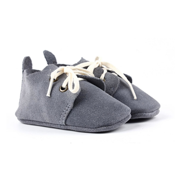 The Jericho Shoe - Grey-Shoes-Aston Baby-12-18 months-sawyer + crew-Baby Clothing-Kids Clothes-Toddler Clothes