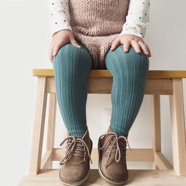 Ribbed Tights-Socks-Collegien-sawyer + crew-Baby Clothing-Kids Clothes-Toddler Clothes