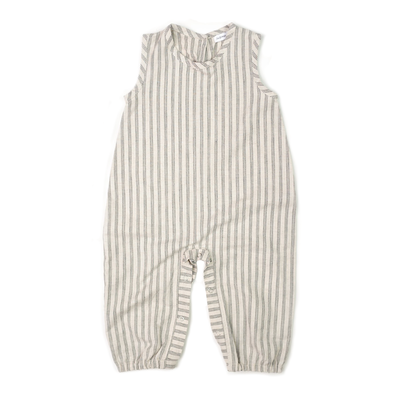 Tank Romper - Triple Stripe-Rompers-Fin & Vince-12-24 months-sawyer + crew-Baby Clothing-Kids Clothes-Toddler Clothes