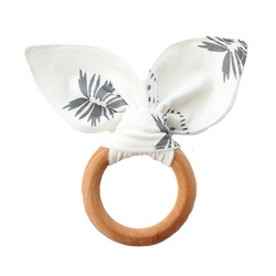 Teething Ring - Jasmine Wildflower-Teethers-Babysprouts-online baby shop- online boutique for kids-sawyer + crew-Baby Clothing-Kids Clothes-Toddler Clothes- cute newborn clothing-clothing for babies- mommy and me-twinning tees-graphic tees for moms and kids-online boutique for babies-boho clothes for kids-online store for kids-organic clothing for babies