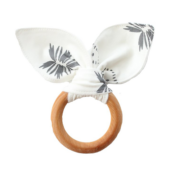 Teething Ring - Jasmine Wildflower-Teethers-Babysprouts-sawyer + crew-Baby Clothing-Kids Clothes-Toddler Clothes