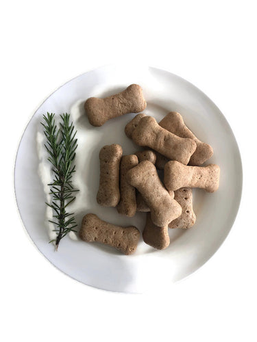 NATURAL HEALTHY TREATS. Oven Baked Biscuits. Promotes healthy joints and bones and healthy dog coat.