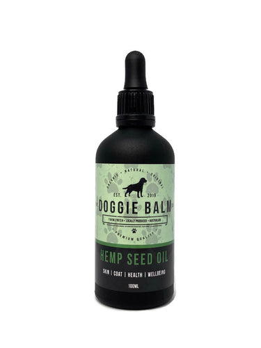Hemp Seed Oil for Dogs (100ml)