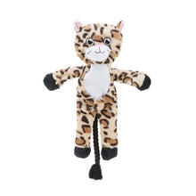 Load image into Gallery viewer, Cuddly Plush Leopard (inbuilt rope)