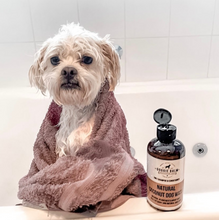 Load image into Gallery viewer, DoggieBalm Co. Natural Coconut Shampoo and Conditioner