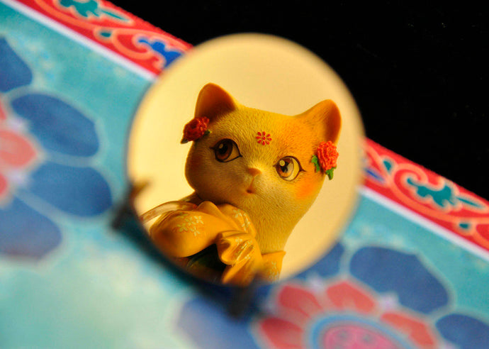 "Chinese Valentine's Day Style Figure Review ""Deam Tang - Drawing Cat And Red Line"""