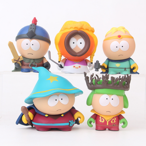 South Park The Stick of Truth Eric Kenny Kyle Stan Small Figure Collection - 6cm
