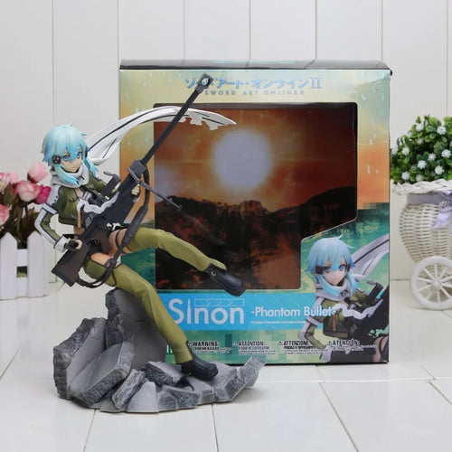 Sword Art Online Asada Shino Phantom Bullet Figure - 22.5CM