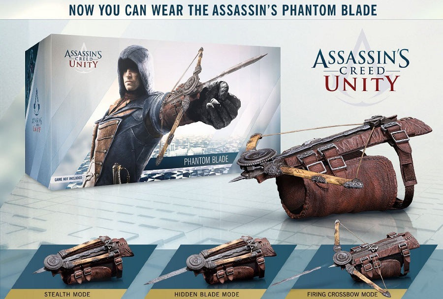 Assassin's Creed Unity Edward's Phantom Blade