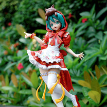 Load image into Gallery viewer, Hatsune Miku Project DIVA  Little Red Riding Hood Version - 23CM