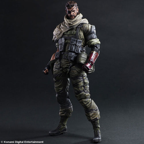 Metal Gear Solid V: The Phantom Pain Snake Action Figure Play Arts KAI - 28CM