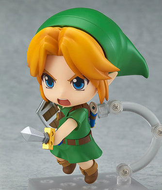 Legend of zelda Majora's Mask Link Nendoroid Q-Version Game Figure - 10cm