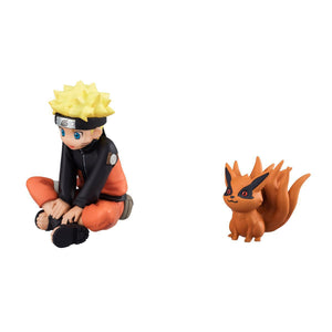 Naruto Q-Version figure naruto and bijuu - 8cm